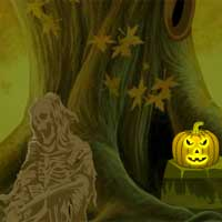 Creepy Pumpkin Forest Escape