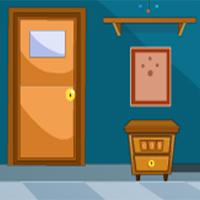 Cyan Strange House Escape