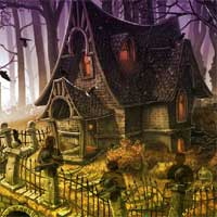 Halloween Witch Forest Escape