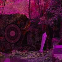 Midnight Purple Forest Secrets Escape